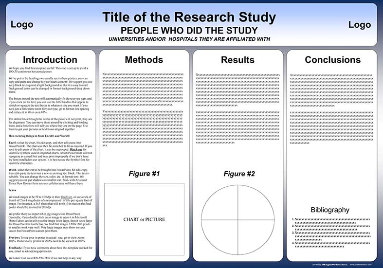 poster template 90 x 120cm - free powerpoint scientific research poster templates for