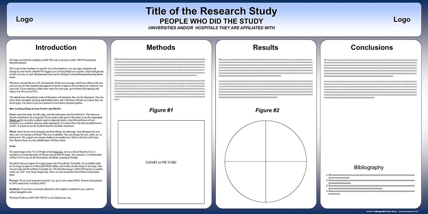 Free powerpoint scientific research poster templates for for What is the best poster website