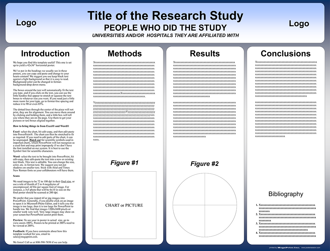 42x32 research poster template
