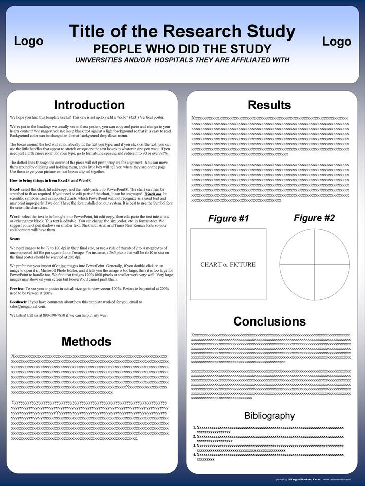 36x48 powerpoint poster template
