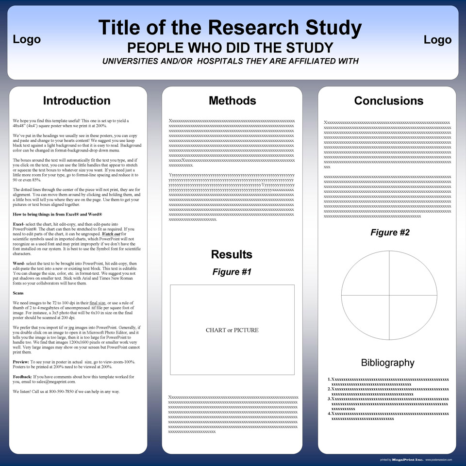 48x48 research poster template