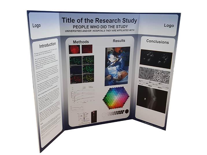Tri Fold Presentation Displays